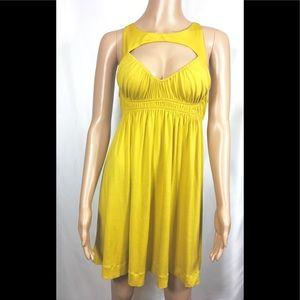 Forum mustard Dress SZ Small